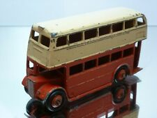 DINKY TOYS 290 LONDON ROUTEMASTER BUS - RED+ CREAM - GOOD CONDITION