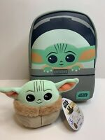 Funko STAR WARS Mandalorian Baby Yoda The Child Mini Backpack with Squishmellow!