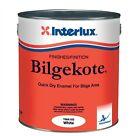 Interlux Bilgekote Enamel Marine Boat Bilge Bulkhead Paint White Quart Yma102q
