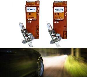 Philips Rally Vision H1 100W Two Bulbs Head Light Replace High Beam Plug Play OE