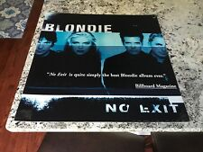 "Blondie ""No Exit"" Rare Promo Music Poster -Debbie Harry 24X24"