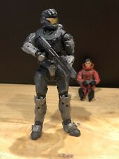 Mcfarlane Halo 3 Reach Video Game Action Figure Spartan B312 Noble Six With Ar