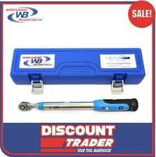 "Warren & Brown Screen Torque Wrench 3/8"" Square Drive 20-100Nm - 334351"