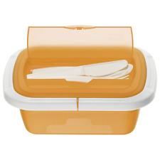 SNACK BOX CON SCOMPARTO PER POSATE IDEALE PER SPUNTINO 21x15x7.5 cm