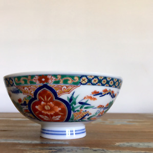 ARITA Japan Floral Scenery Design Rice Bowl Porcelain Home Interior Decoration