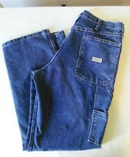 Wrangler Carpenter Men's Blue Work Jeans Size 36 x 32