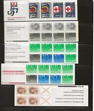 Netherlands Booklet Panes 1986-1988 MNH Superb