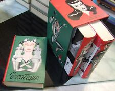 EXOTIQUE . cofanetto 3 libri Taschen . in inglese