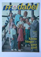 DDR Fernsehzeitschrift FF Dabei RARITÄT 45/1988 TOP !!