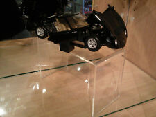 Cabinet car stands (2) for Diecast Model Car 1:18