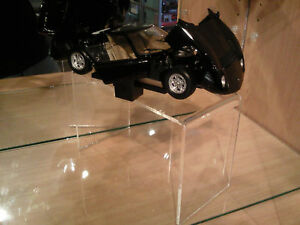 Cabinet car stands (3) for Diecast Model Car 1:18