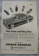 1959 Singer Gazelle Original advert No.1