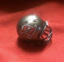 Lot of 2 Riddell pocket pro football helmets Tampa Bay Buccaneers revolution