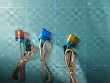 Fz Rc rotación Beacon Blue Suit Tamiya 13 Mm De Diámetro X 18 mm alta 1/10 -1 / 16 Escala