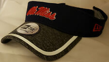 low priced 5302f 829dc NWT New Era Ole Miss REBELS adjustable one size fits most ncaa VISOR cap hat
