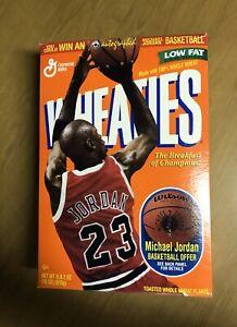 1998 Empty Wheaties Cereal Box Michael Jordan Chicago Bulls The Last Dance