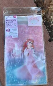 Disney Princess Ariel DresSed As Aurora Plastic Gift Wrapping Bag DAISO JAPAN
