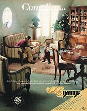 PUBLICITE ADVERTISING 015  1981  MEUBLES GRANGE   CALECHE