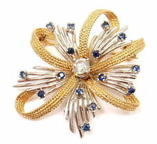 Yellow Gold Fine Diamonds & Gemstone Fine Brooches & Pins