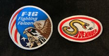 USAF F-16 Fighting Falcon and AIM-9 Sidewinder Patches Viper Iraq IR missile