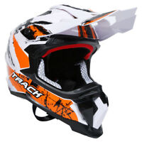 Motorcycle DOT Adult Full Face Helmet Street Riding Racing Off-Road M L XL TCMT
