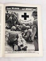 American Photography Magazine April 1945 Vintage Advertising World War 2 Photos