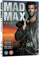 MAD MAX Trilogy Series 1-3 Complete Movie Collection Boxset Part 1 2 3 UK R2 DVD