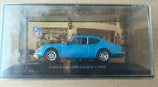"""DIE CAST """" SIMCA CG 1300 COUPE' - 1973 """" SIMCA COLLECTION SCALA 1/43"""