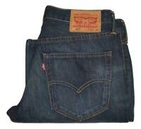 Mens LEVI'S 527 Dark Blue (0010) Slim Bootcut Denim Jeans W34 L30