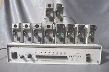 Cetec Vega QX- 6A wireless intercom master station with 10 belt packs beltpack
