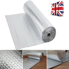 Double Foil Bubble Insulation UK DELIVERY FAST SHIPPING 30m2 (1.2mx25m )