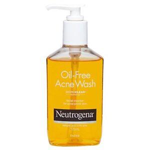 2 x Neutrogena Oil-Free Acne Wash (Face Wash with Salicylic Acid) 175 ml