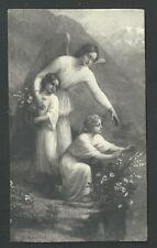 image pieuse ancianne del Angel Custodio santino holy card estampa
