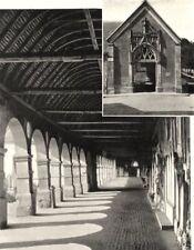 YVELINES. Le cimetière et la porte du cloitre de Montfort- I'Amaury.  1902