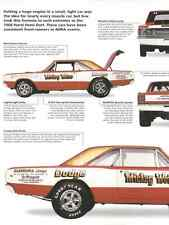 1968 Dodge 426 Hemi Dart Article - Must See !! - NHRA Super Stock LO23