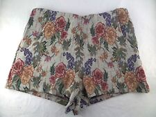 NWT Womens Alythea High Waist Floral Vintage Style Shorts Size Small
