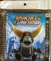 PlayStation Ratchet & Clank Future Tools of Destruction 3D Promo Spiral Notebook