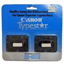 Canon Typestar Ink Ribbon Cassette IR-502. IR-50II