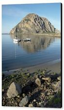 Reflection Anchorage Barbara Snyder Morro Rock Morro Bay California Canvas 20x30