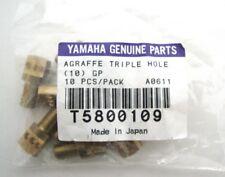Yamaha Genuine Parts Agraffe Triple Hole 10 Stück Klavier Messing Ersatzteile