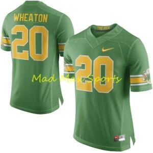 "OREGON DUCKS PUDDLES 1994 ""The Pick"" KENNY WHEATON Nike LIMITED Jersey Sz S-3XL"
