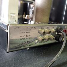 McIntosh MX110 Tube Tuner, Preamp, M Serial #135M5