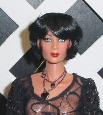 "Doll Wig Monique ""Doris"" size 14/15 Fits My Twinn - Black"