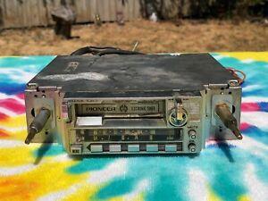 Vintage 1970's 1980's Pioneer KE-2000 Super Tuner Car Radio Cassette Tape Player