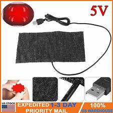 5V USB Electric Heating Pad Adjustable Temperature Thermal Warm Vest Jacket USA