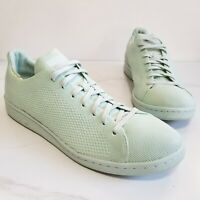 Adidas Stan Smith Primeknit Casual Low Top Shoes Sneakers Green Men's Size 11