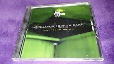 THE JASON BONHAM BAND cd WHEN YOU SEE THE SUN free US shipping