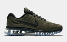 new product ff2b0 268dc Nike Air Max 2017 Men s Running Lifestyle Shoes 849559 302 Cargo Khaki Black  NIB
