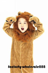 Halloween Lion Mascot Costume Adults Kids Size Birthday Party Game Fancy Dress