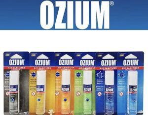 OZIUM Air Sanitizer Air Cleaner Freshener Car Home Smoke Odor Eliminator 0.8oz